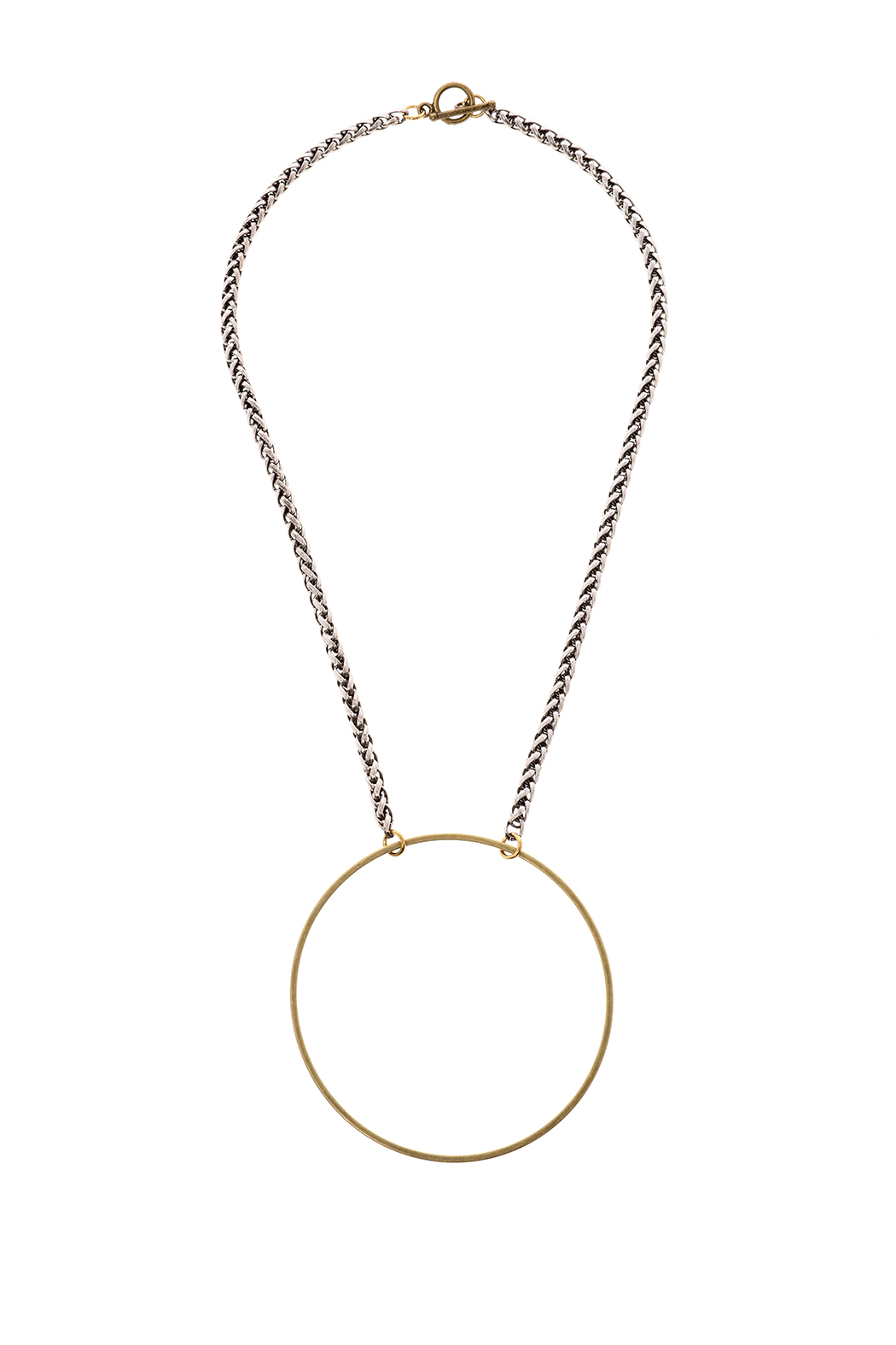 Mary Garrett Circle Pendant Necklace - Main Image