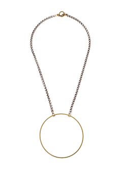 Shoptiques Product: Circle Pendant Necklace