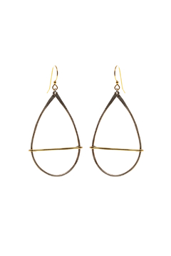 Shoptiques Product: Silver And Gold Earrings