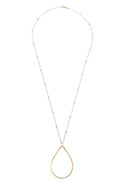 Mary Garrett Teardrop Pendant Necklace - Product Mini Image