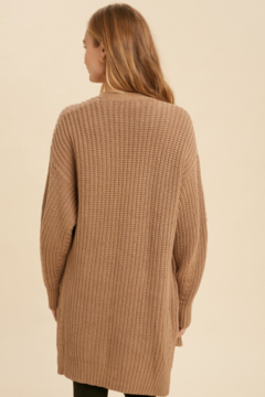 In Loom Mary Kate Oversized Knit Cardigan - Alternate List Image