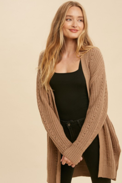 In Loom Mary Kate Oversized Knit Cardigan - Product List Image