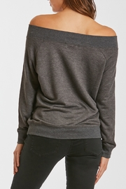 Another Love Mary Off Shoulder Sweatshirt - Side cropped
