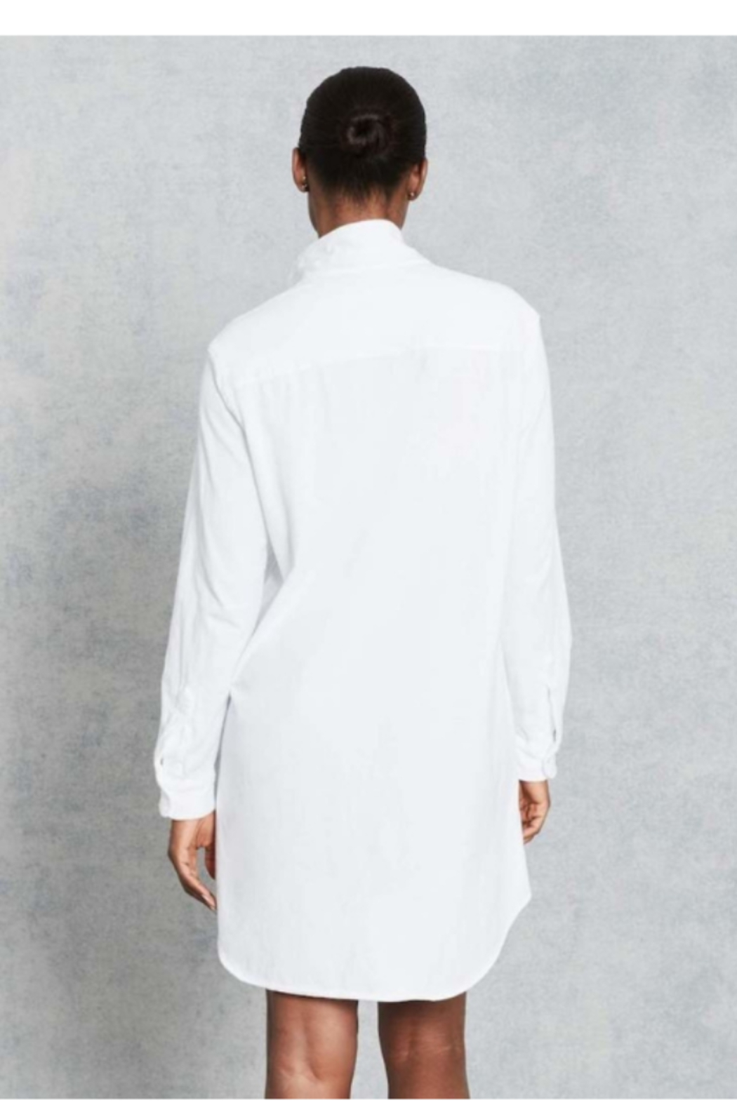 Frank & Eileen Mary Relaxed Button Down Shirt Dress - Side Cropped Image