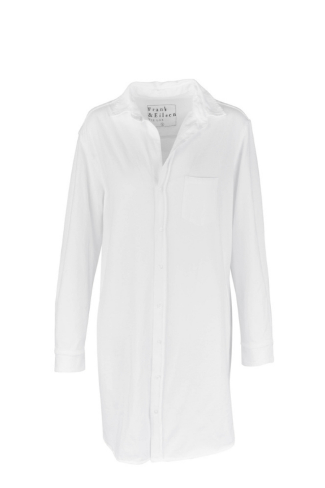 Frank & Eileen Mary Relaxed Button Down Shirt Dress - Main Image