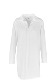 Frank & Eileen Mary Relaxed Button Down Shirt Dress - Front cropped
