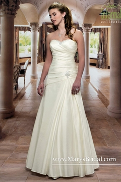 Mary's Bridal Taffeta A-Line Wedding Gown - Product List Image