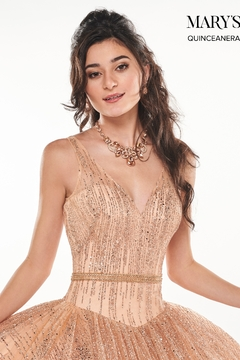 Mary's Bridal Mary's Formal Gown In Rose Gold - Alternate List Image