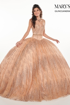 Mary's Bridal Mary's Formal Gown In Rose Gold - Product List Image