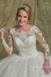 Mary's Bridal Informal Ballgown - Side cropped