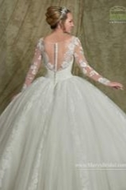 Mary's Bridal Informal Ballgown - Front full body