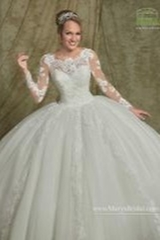 Mary's Bridal Informal Ballgown - Front cropped
