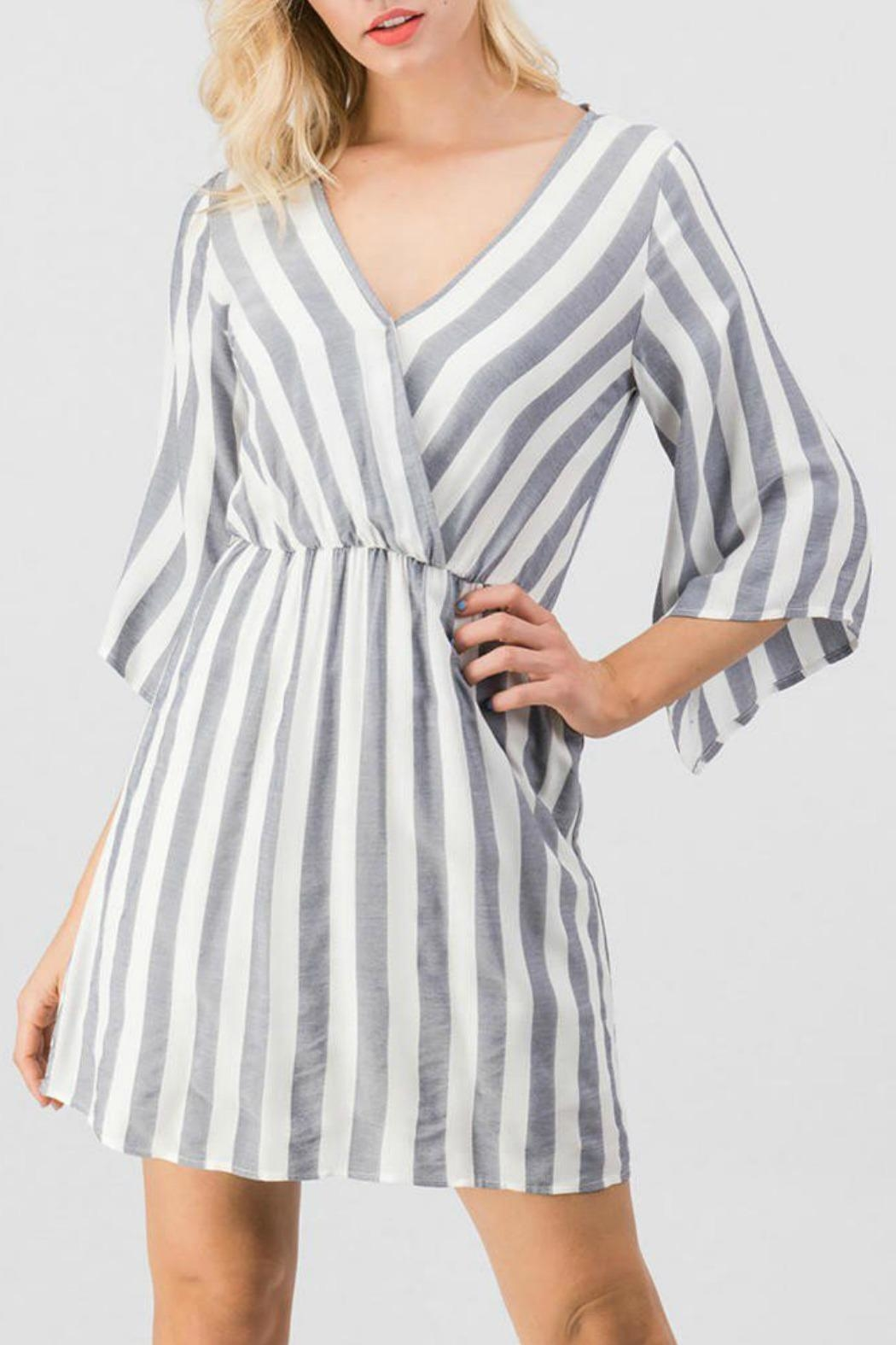 Trend:notes Mary Striped Dress - Main Image