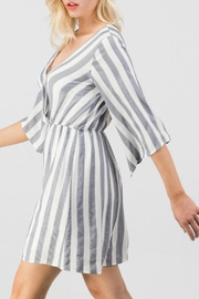 Trend:notes Mary Striped Dress - Front full body