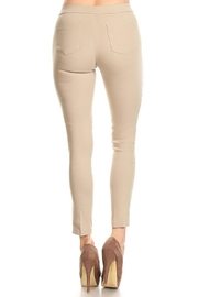 Mary Clan Four Way Stretch Pants - Front full body