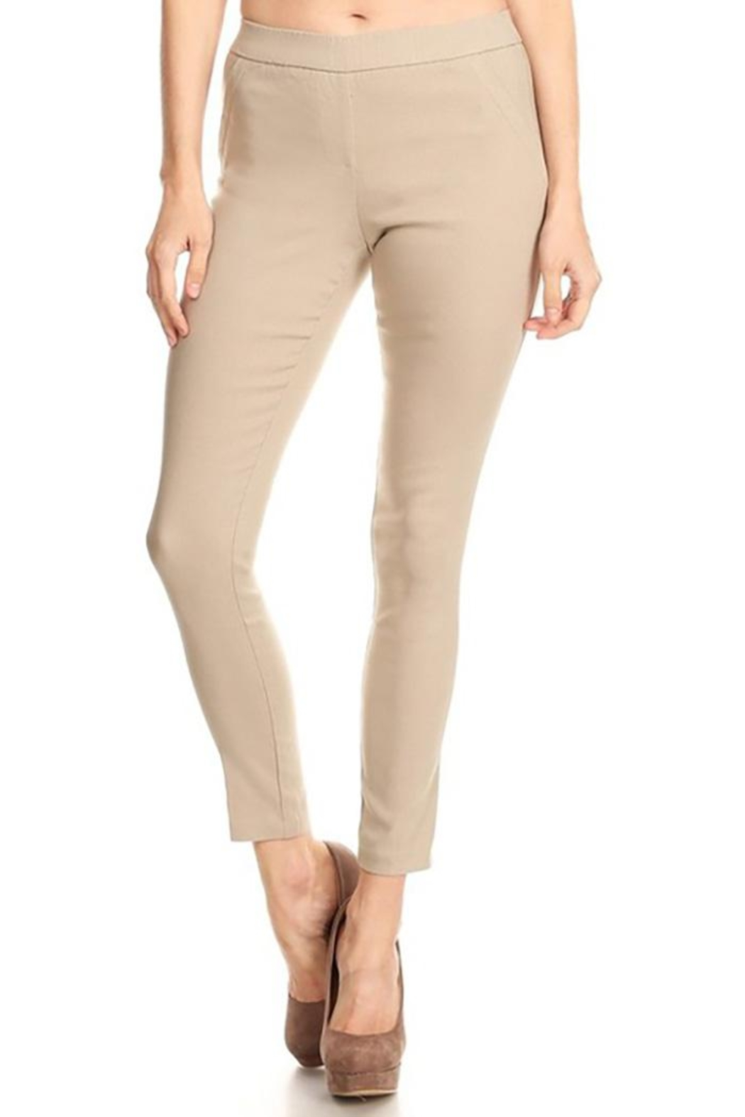 Mary Clan Four Way Stretch Pants - Front Cropped Image