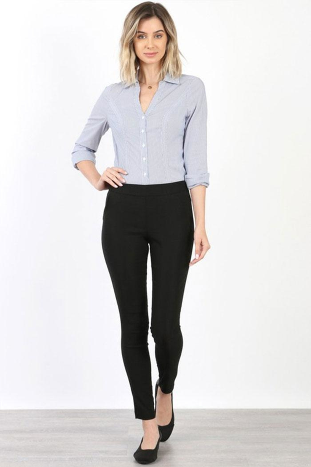 Mary Clan Four Way Stretch Pants - Main Image