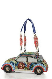 Mary Frances Beetle Beaded Bag - Product Mini Image