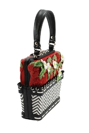 Mary Frances Berry-Licious Strawberry-Basket Bag - Back cropped
