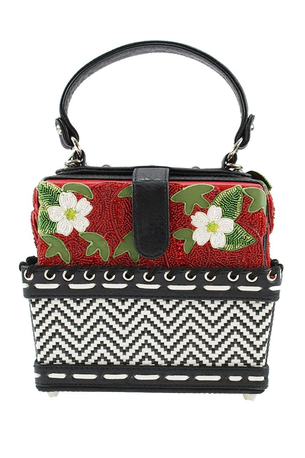 Mary Frances Berry-Licious Strawberry-Basket Bag - Front Full Image