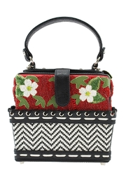 Mary Frances Berry-Licious Strawberry-Basket Bag - Front full body