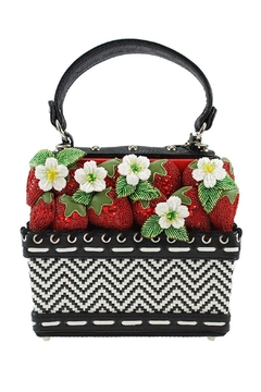 Mary Frances Berry-Licious Strawberry-Basket Bag - Product List Image