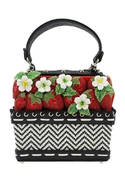 Mary Frances Berry-Licious Strawberry-Basket Bag - Front cropped