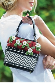 Mary Frances Berry-Licious Strawberry-Basket Bag - Other