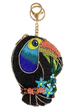 Mary Frances Bill-Me-Toucan Coin-Purse/key Fob - Product List Image