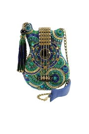 Mary Frances Blue-Note Guitar Handbag - Product Mini Image