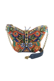 Mary Frances Butterfly Art Handbag - Front cropped