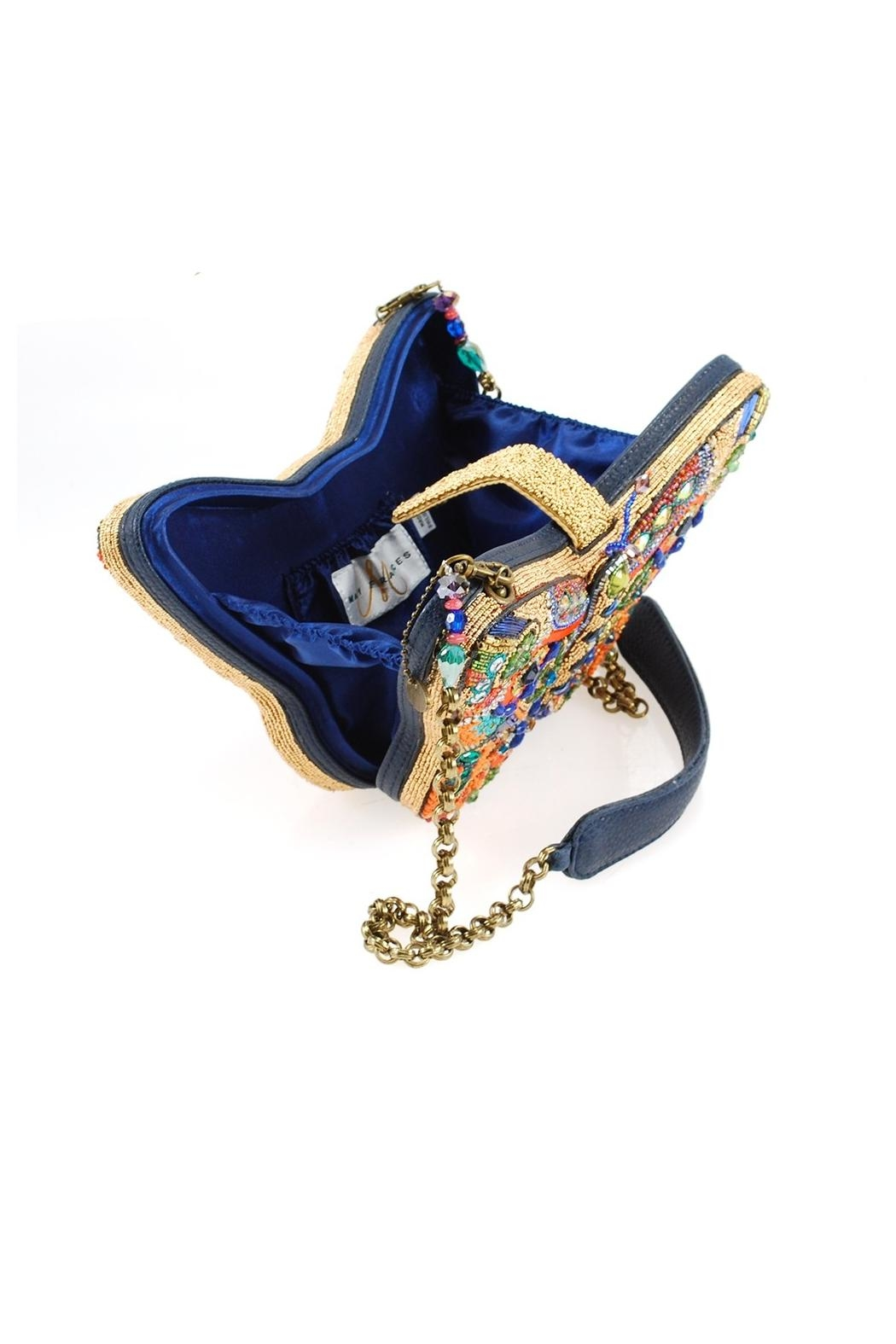 Mary Frances Butterfly Art Handbag - Side Cropped Image