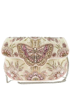 Mary Frances Butterfly-Kisses Beaded Handbag - Product List Image