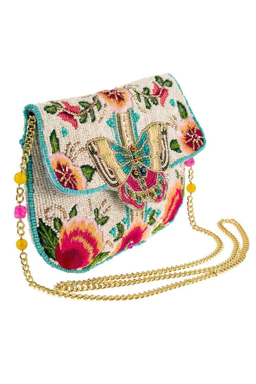 Mary Frances Dream Chaser Butterfly Handbag - Side Cropped Image