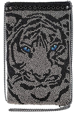Mary Frances Eye-Of-The-Tiger Beaded Phone-Crossbody - Product List Image