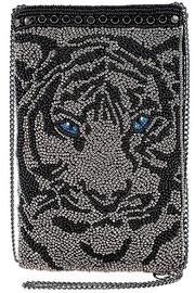 Mary Frances Eye-Of-The-Tiger Beaded Phone-Crossbody - Product Mini Image