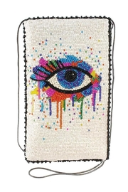 Mary Frances Eye-Paint Handbag - Front cropped