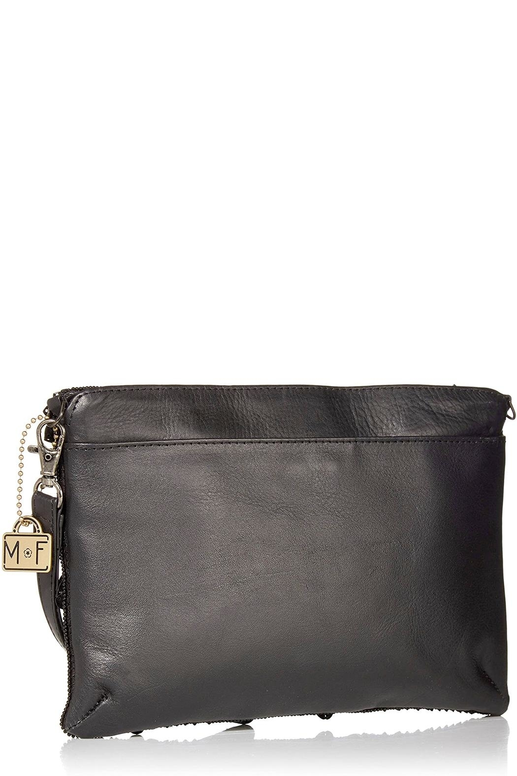 Mary Frances Floral Lux Crossbody-Clutch - Front Full Image