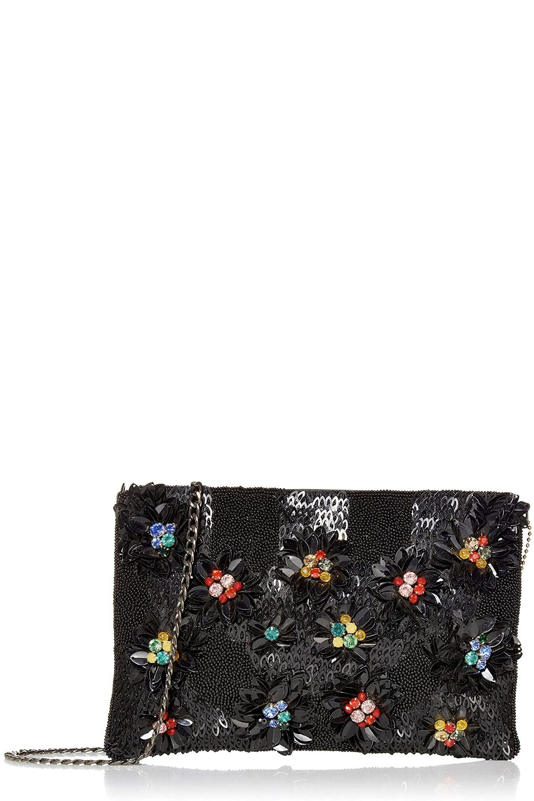 Mary Frances Floral Lux Crossbody-Clutch - Main Image