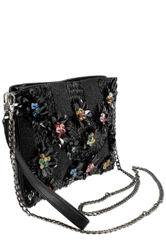 Mary Frances Floral Lux Crossbody-Clutch - Alternate List Image