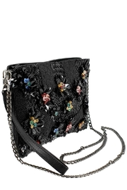 Mary Frances Floral Lux Crossbody-Clutch - Back cropped