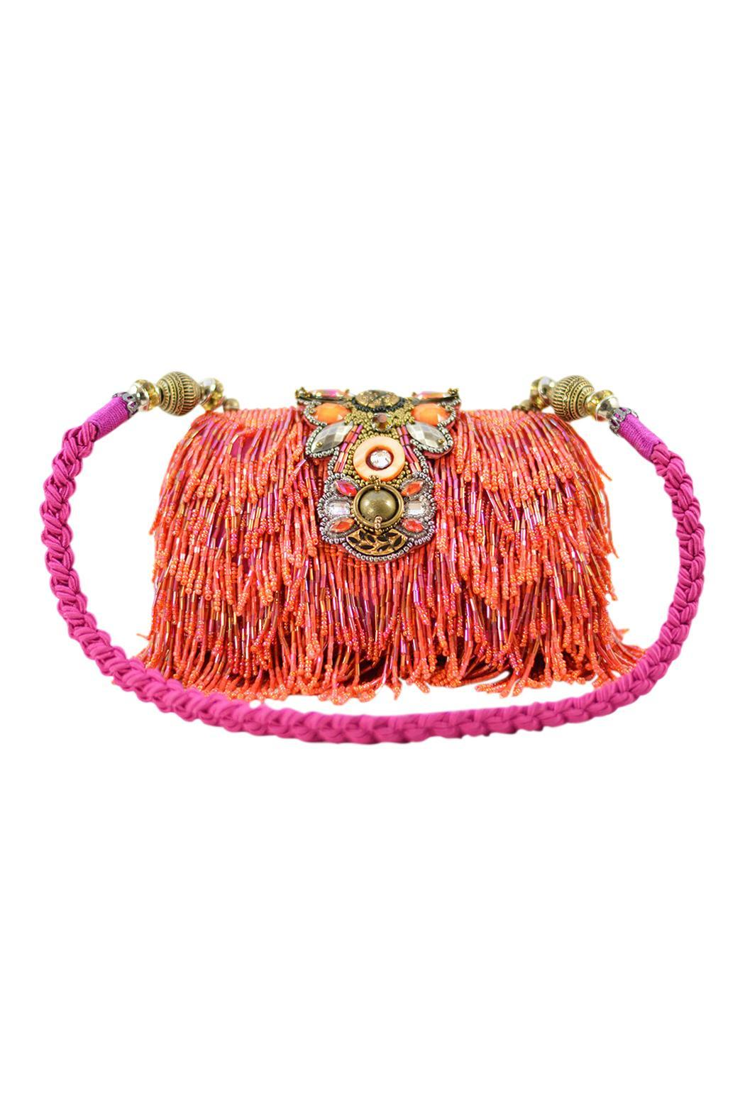 Mary Frances Hibiscus Fizz Handbag - Main Image