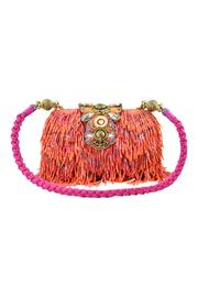 Mary Frances Hibiscus Fizz Handbag - Front cropped
