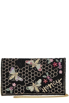 Mary Frances Honey-Bee Beaded Clutch/Crossbody - Product List Image