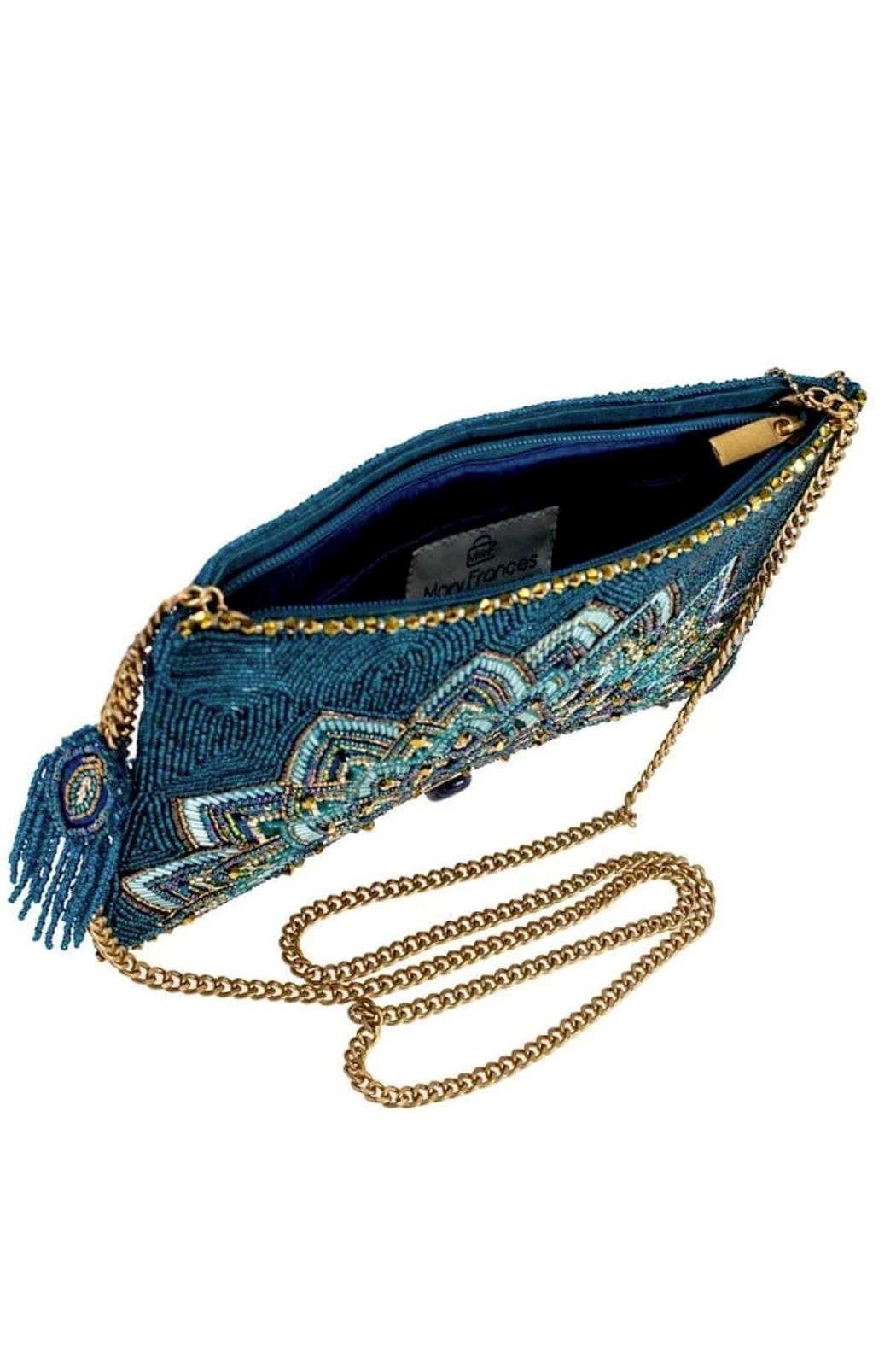 Mary Frances Passion Peacock - Princess Jasmine Crossbody - Side Cropped Image