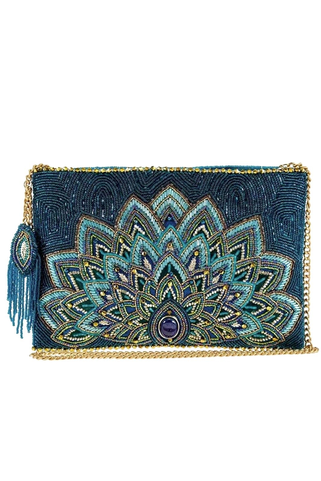 Mary Frances Passion Peacock - Princess Jasmine Crossbody - Front Cropped Image