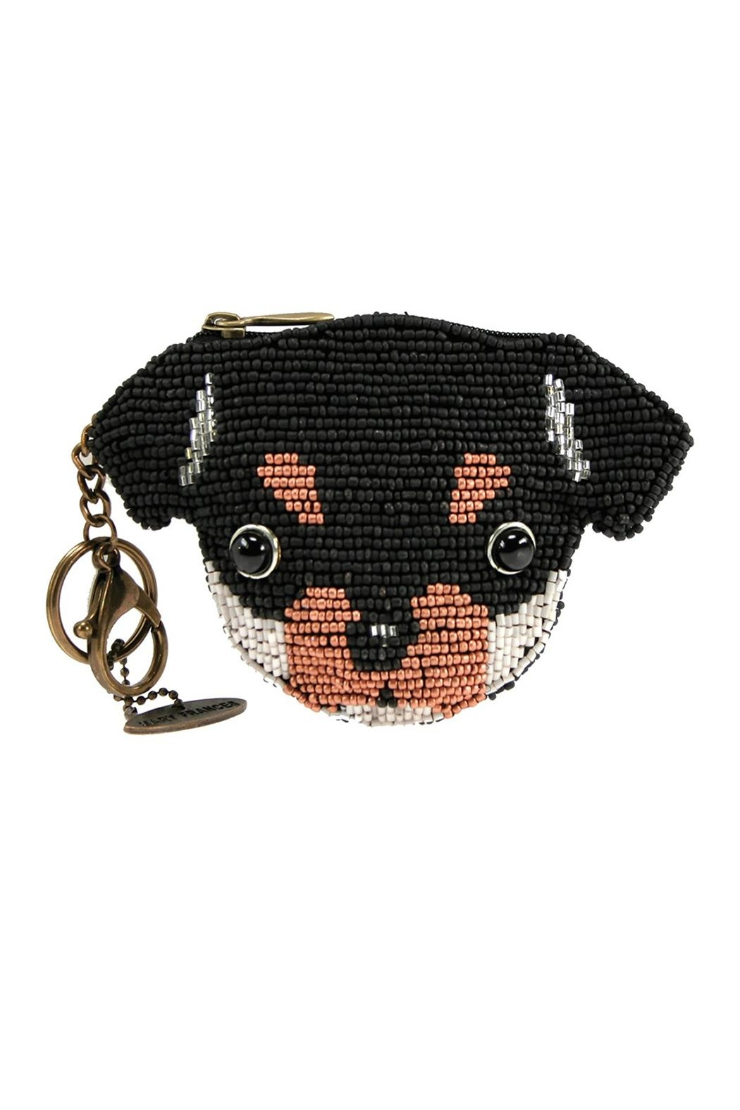 Mary Frances Puppy Coin Purse - Main Image