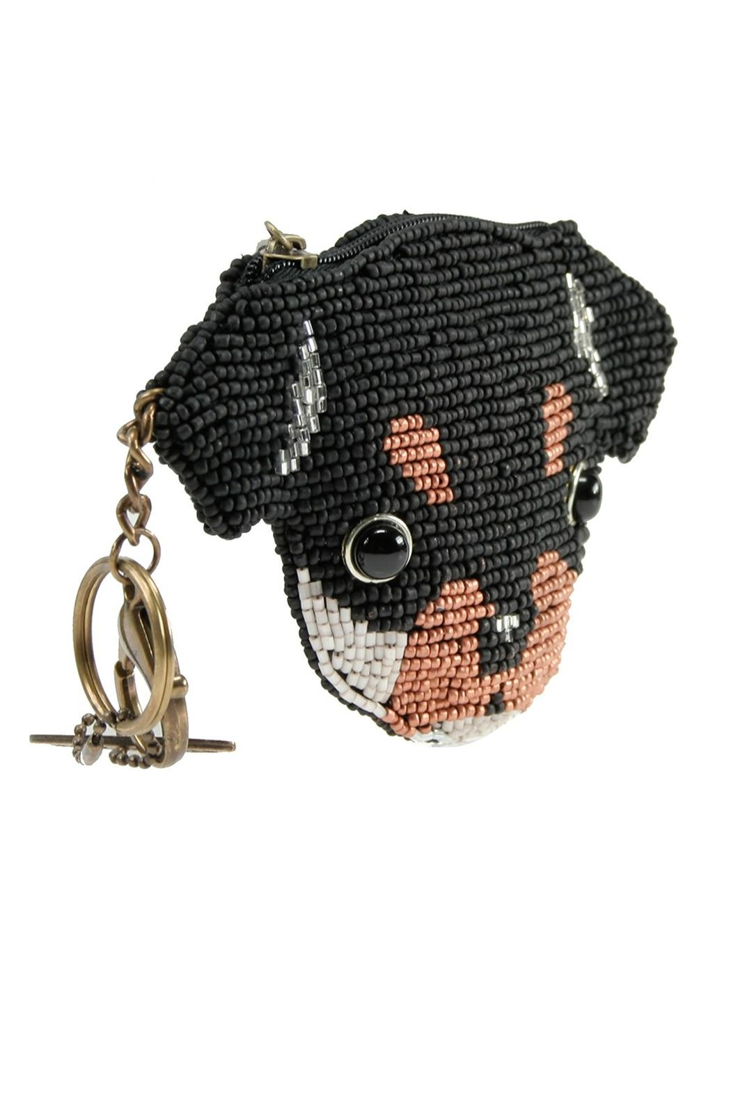 Mary Frances Puppy Coin Purse - Side Cropped Image