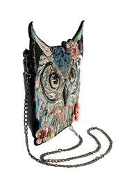Mary Frances Spirit Owl Handbag - Back cropped