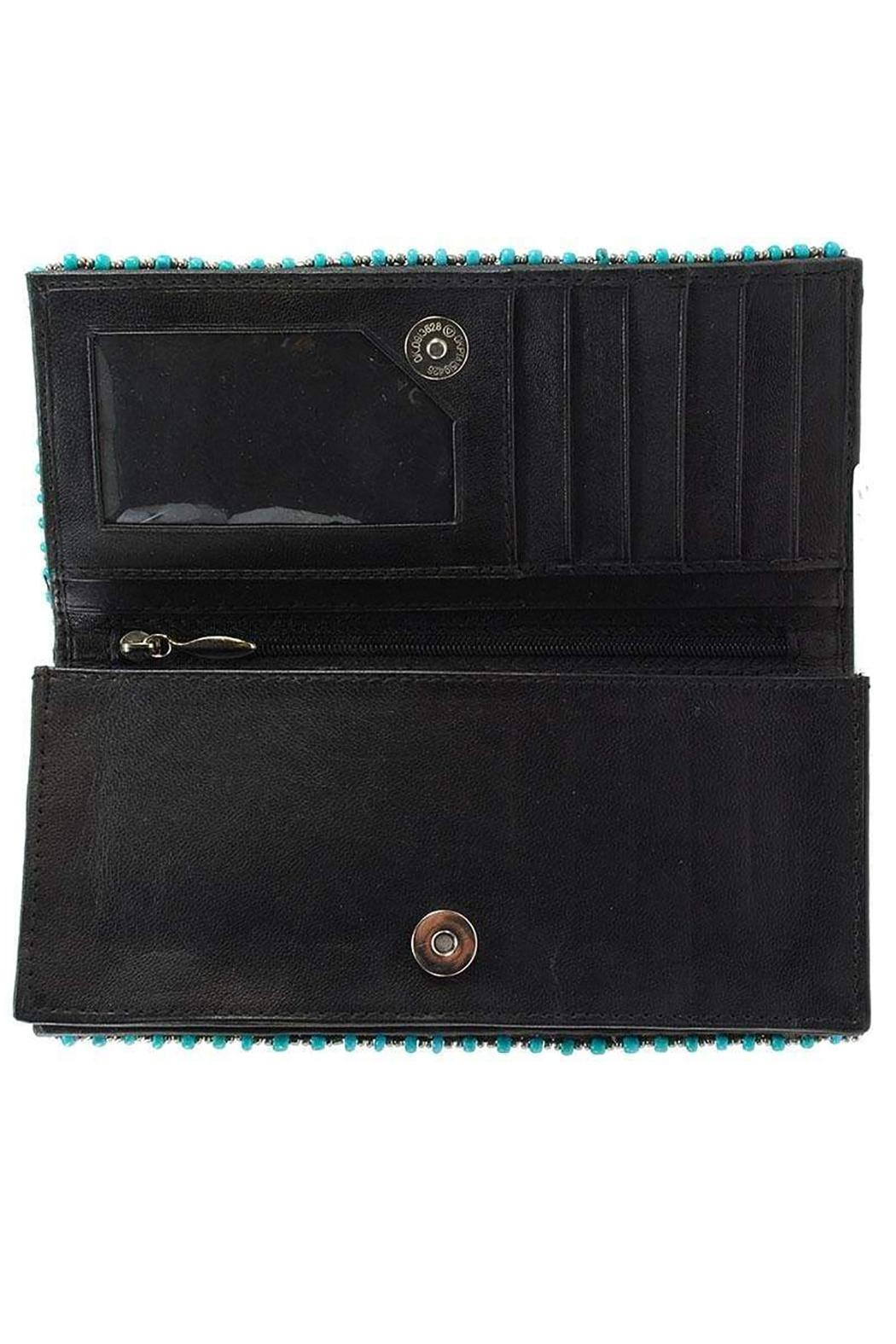 Mary Frances Squash Blossom Wallet - Back Cropped Image